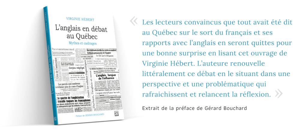 L'anglais en débat au Québec